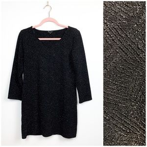 🌸2/$30🌸 Sparkly Black Ladies Top/Mini Dress